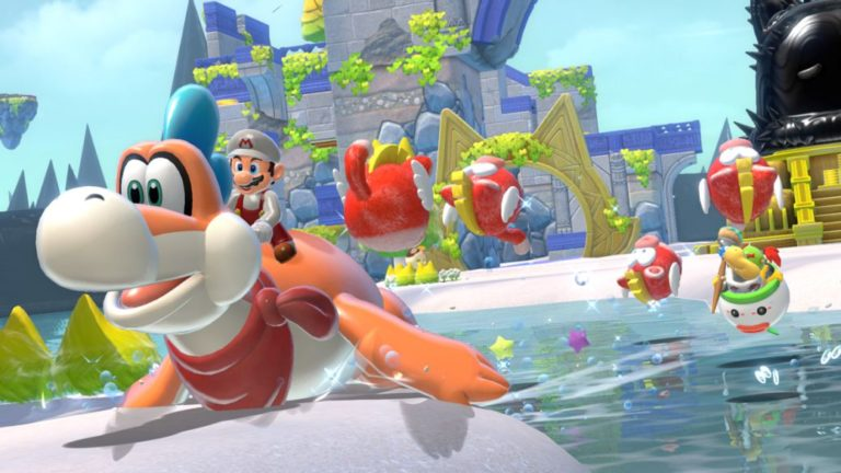 Super Mario 3D World leads US sales in February