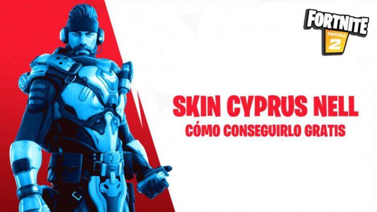 Cómo conseguir gratis el skin Cyprus Nell en Fortnite