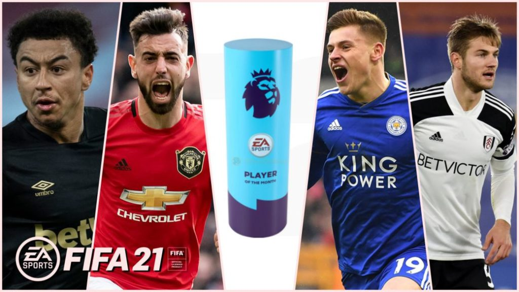 FIFA 21: all the nominees for February's best player in the Premier League