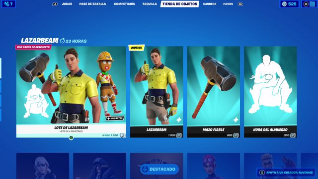 fortnite chapter 2 season 5 skin lazarbeam icon series idol series price contents how to get it