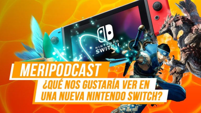 MeriPodcast 14x21: What would we like to see in a new Nintendo Switch?