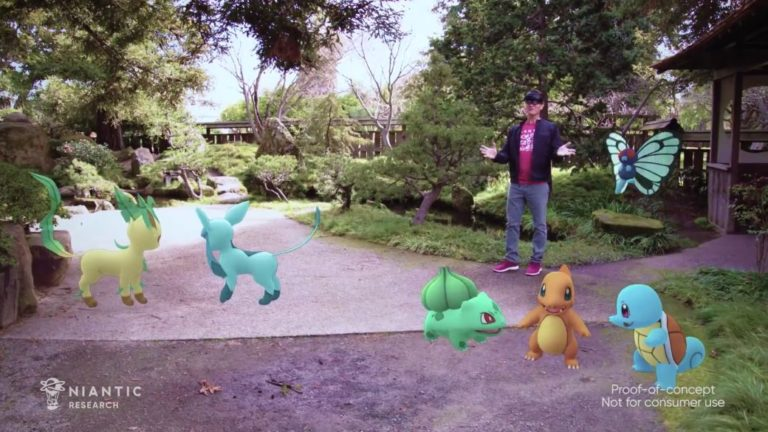 Pokémon GO makes the leap to the Hololens with a demo at Microsoft Ignite 2021