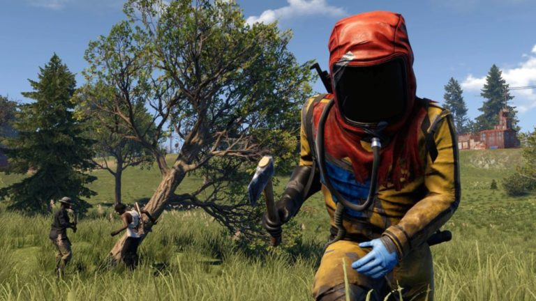 Rust shows in detail its versions of PS4 Pro and Xbox One X