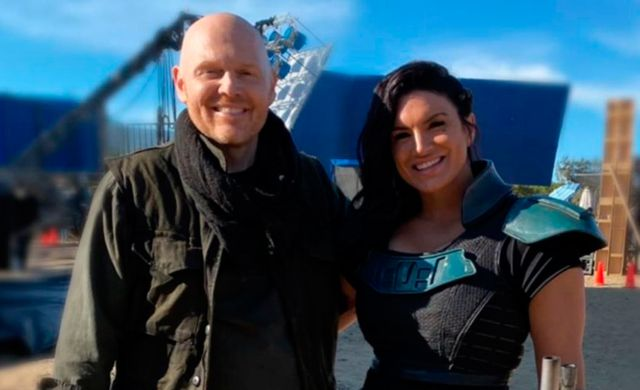 The Mandalorian: actor Bill Burr defends Gina Carano and criticizes her dismissal from the series