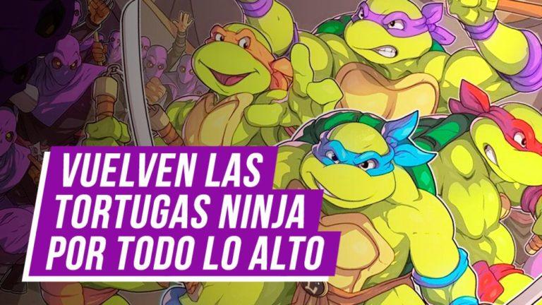 The Ninja Turtles return, we travel through time with them
